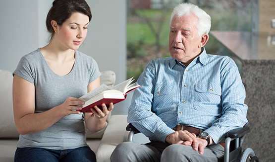 Home Care is unskilled services provided by home care aides, who are trained in senior care.